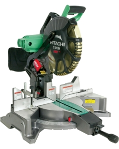 "Metabo HPT C12FDHM 12"" Dual Bevel Miter Saw with Laser Marker"