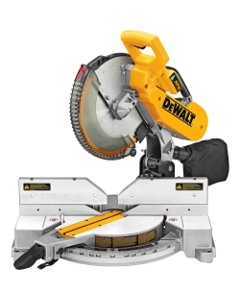 "Dewalt DW716XPS 12"" Double Bevel Compound Miter Saw with CUTLINE Blade Positioning System"