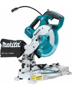 "Makita XSL05Z 18V LXT Brushless Cordless 6-1/2"" Compact Dual-Bevel Compound Miter Saw with Laser, Tool Only"