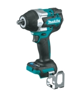 Makita XWT17Z 18V LXT Lithium-Ion Brushless Cordless 4-Speed Mid-Torque 1/2-Inch Sq. Drive Impact Wrench with Friction Ring Anvil, Tool Only