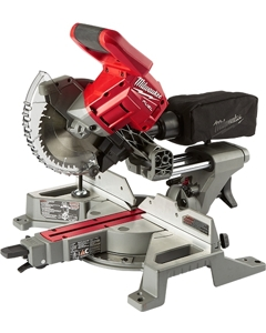Milwaukee 2733-20 M18 Fuel 7-1/4 Dual Bevel Sliding Compound Miter Saw, Tool Only