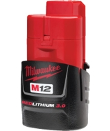 Milwaukee 48-11-2430 M12 REDLITHIUM 3.0Ah Compact Battery Pack