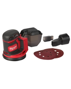 Milwaukee 2648-20 M18 Cordless 5-Inch Random Orbit Sander, Tool Only