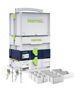 Festool 576913 Limited Edition Systainer Installer's Set - While Supplies Last