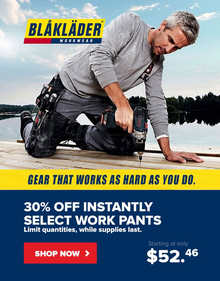 30% Off Select Blaklader Pants