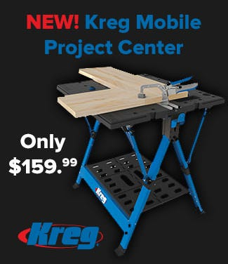 New Kreg KWS1000 Mobile Project Center