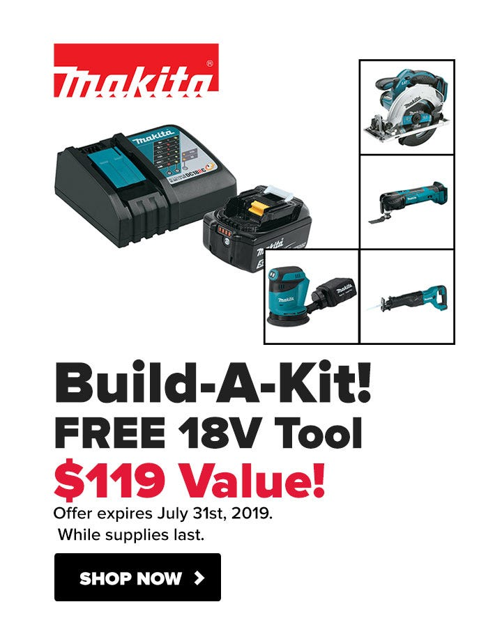 Makita - Free Tool with 18v Starter Kit