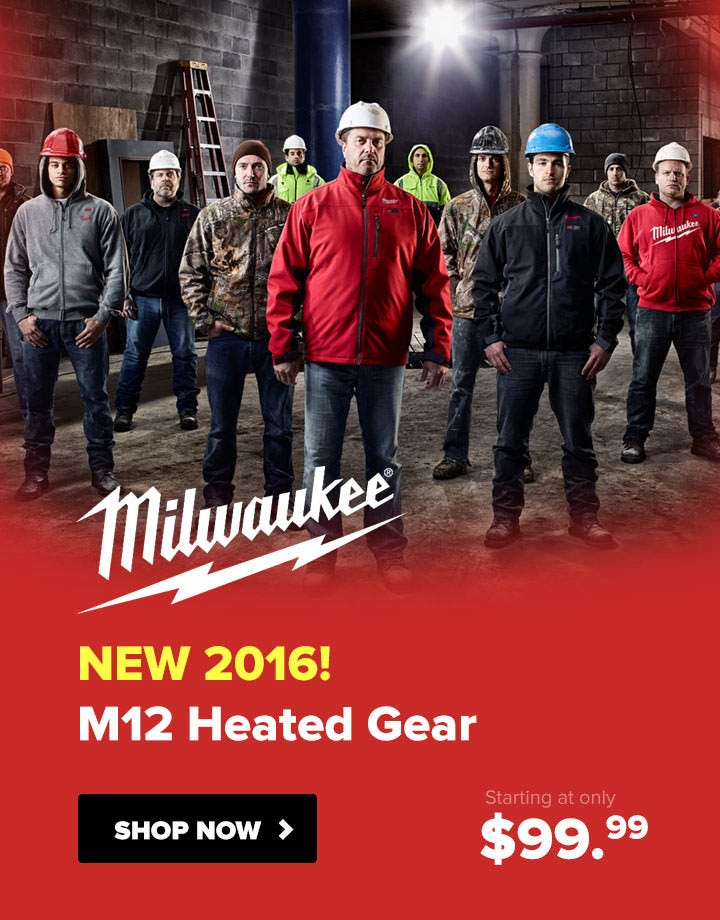 Milwaukee M12 Heated Jackets and Gear